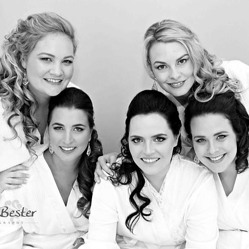 Bridesmaids - Wedding of Carmen Perold