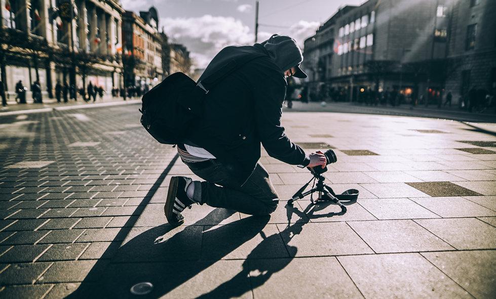 Die Dreharbeiten Streets