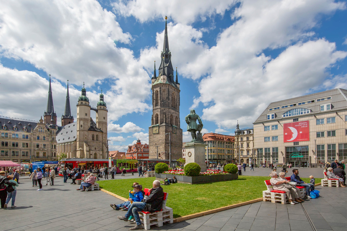 G. F. Handel and the Marktkirche