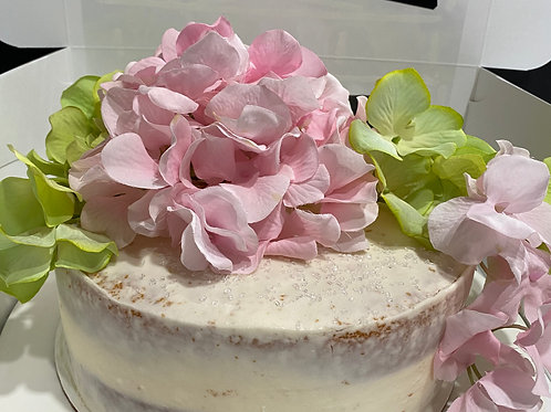 Naked Cake Design (2 Layers) (Doesn't include flowers)