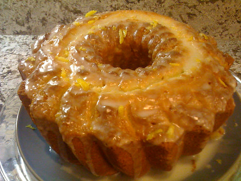 Double Lemon Pound Cake