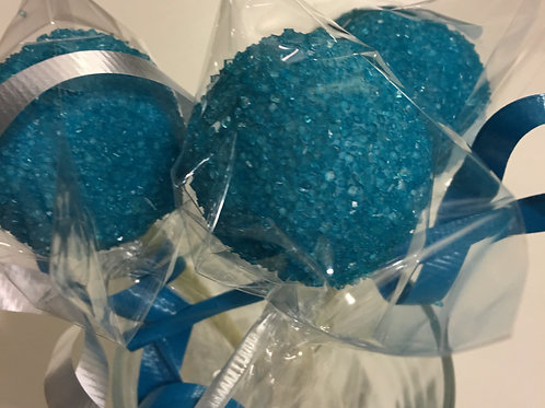 Funfetti Cake Pops in Blue/Pink
