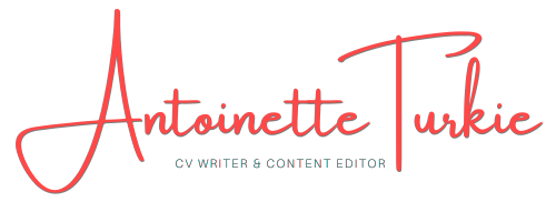 Antoinette Turkie a Professional CV Writer in Inglese and content editor