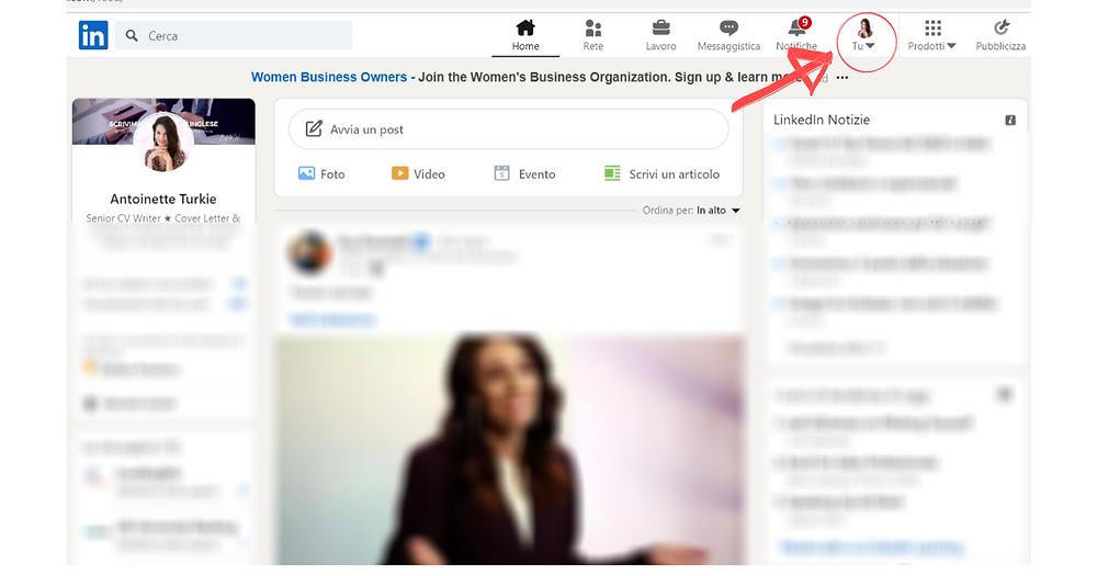 Come rendere visibile il tuo profile su LinkedIn