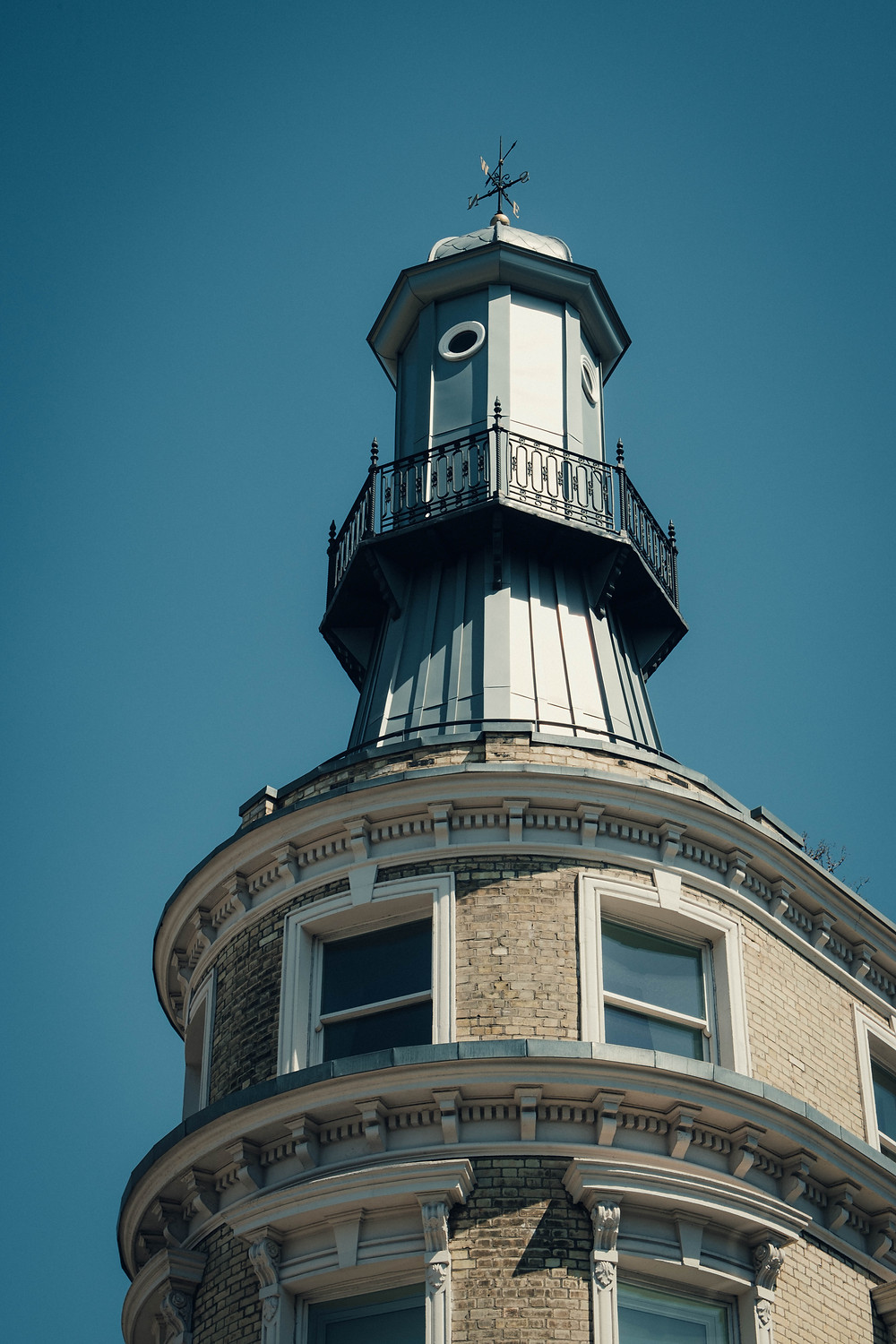 A photograph of the top of the lighthouse in Kings Cross