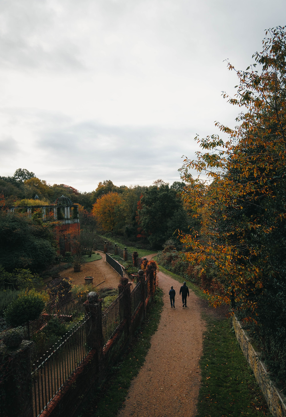 A photograph from Golders Hill Pergola