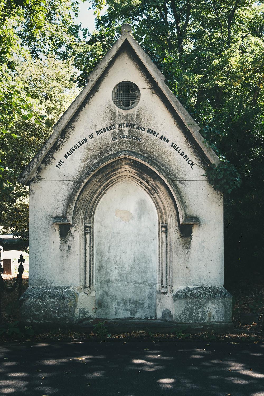 Photograph of Kensal Green Cemetery
