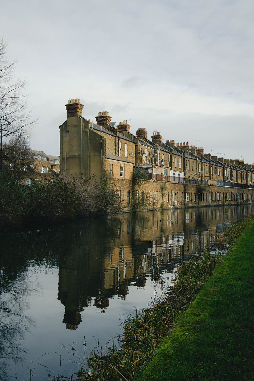 Photograph of the Grand Union Canal