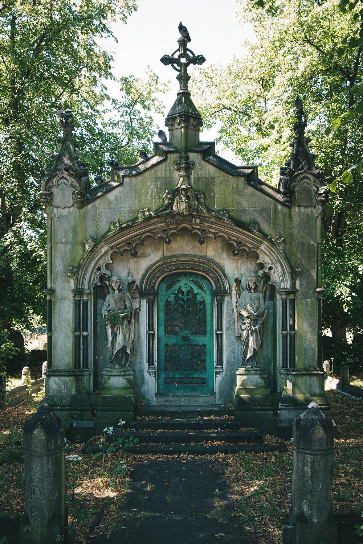 Brompton Cemetery in Kensington and Chelsea