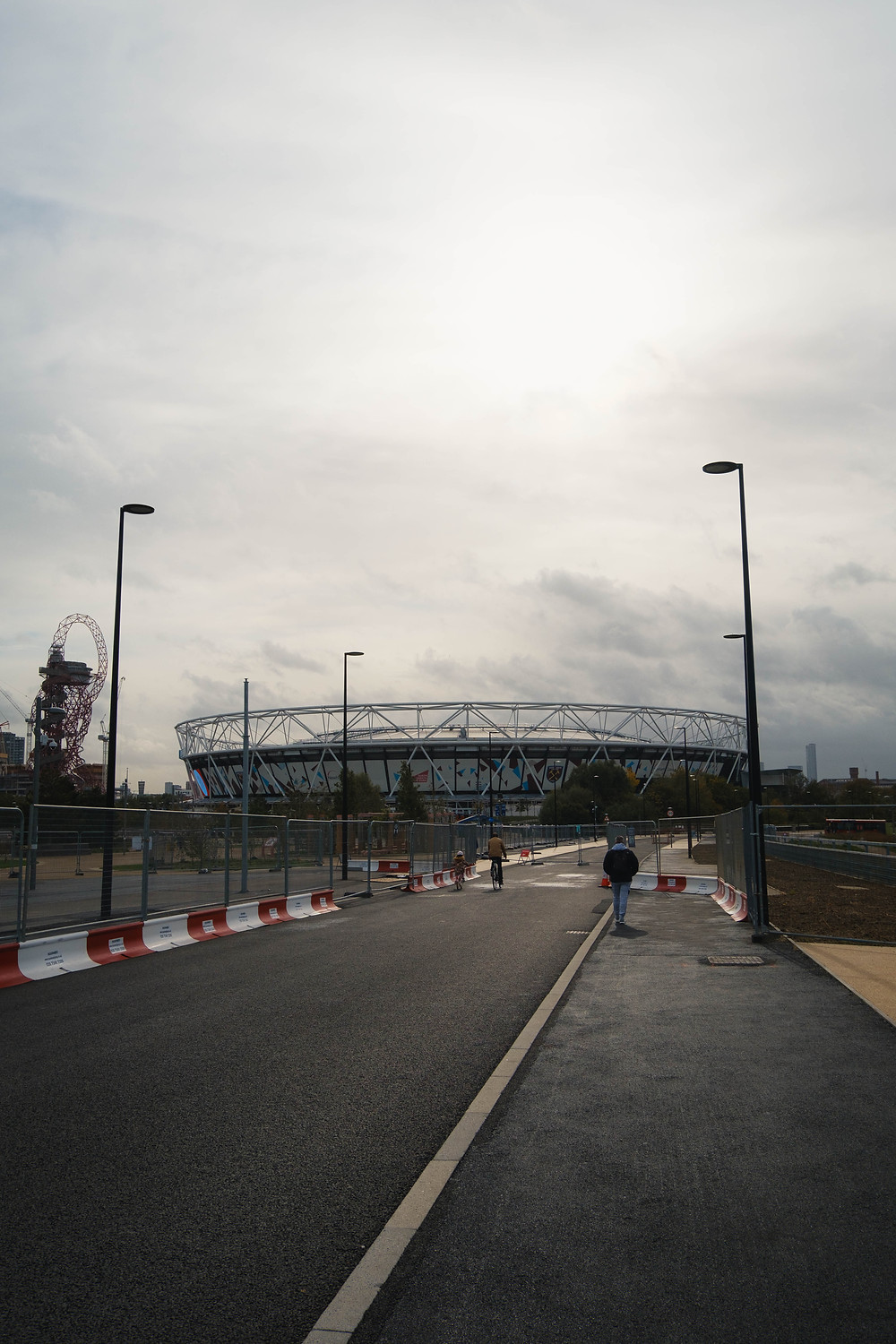 Photograph of the London Stadium in the Olympic Park Stratford