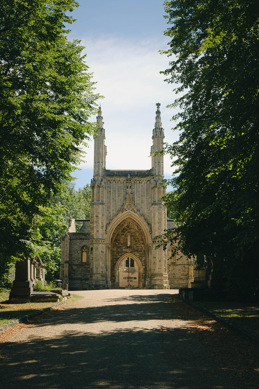 Photograph of Nunhead Cemetery in South London