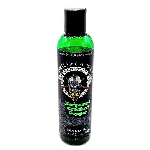 Bergamot Cracked Pepper Beard/Body wash