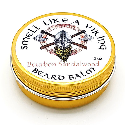 Bourbon Sandalwood Beard Balm/Butter