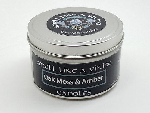 Oak Moss & Amber Man Candle