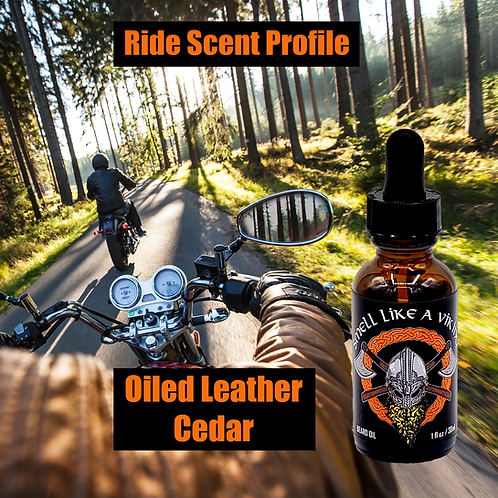 Ride - Leather & Cedar