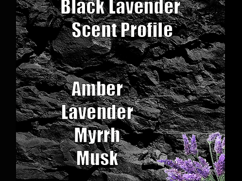 Black Lavender Beard Oil