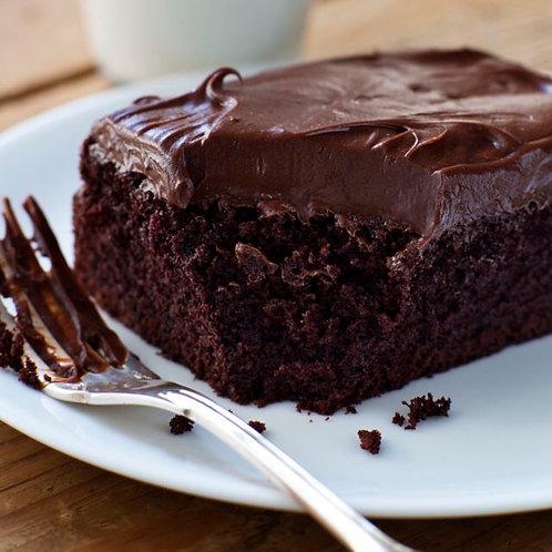 Chocolate Cake w Mocha Frosting