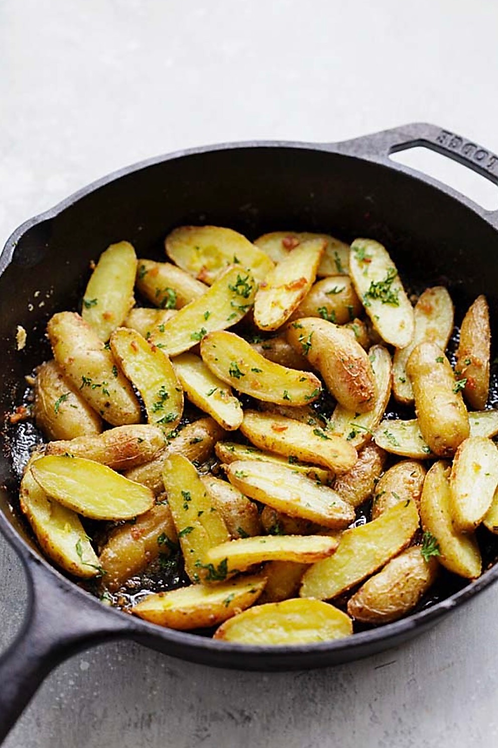 Herb Provence Roasted Fingerling Potatoes