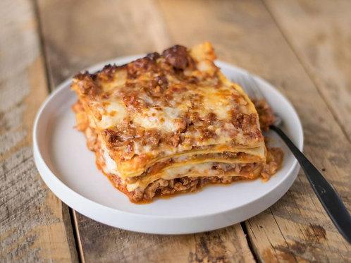 Braised Short Rib Bolognese Lasagna Full Pan