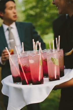 Blackberry Basil Cocktail