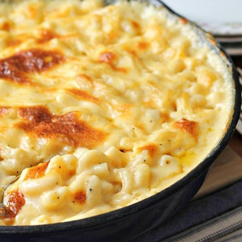 Mac n Cheese w Aged Cheddar