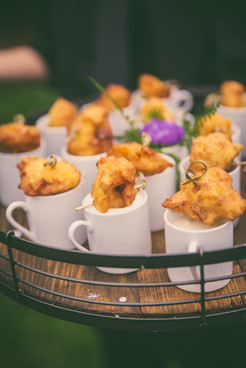 Clam Cakes & Chowder Shooters