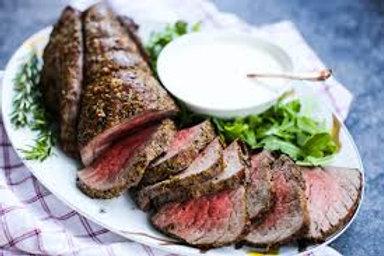 Herb Rubbed Beef Tenderloin