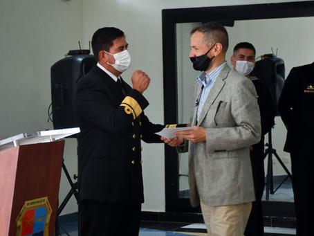Director de EkoPlanet y Eko Bojacá es reconocido por la Armada Nacional de Colombia