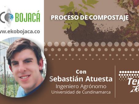 El proceso de compostaje en capacitación de Eko Bojacá