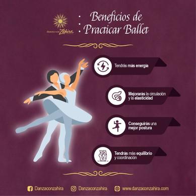 Beneficios de practicar ballet