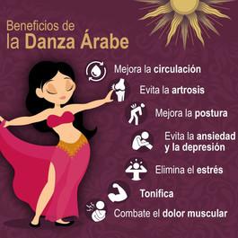 Beneficios de la Danza Árabe