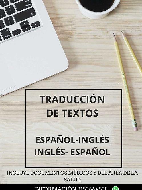 Traducción de textos