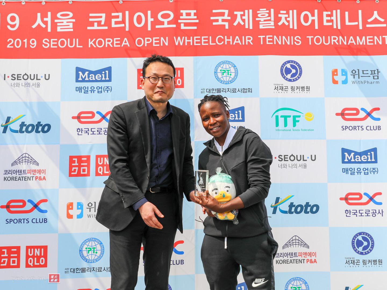 2019 Seoul Korea Open Singles Runner up