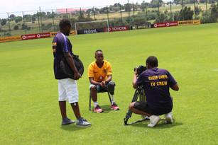 KG visits Kaizer Chiefs FC