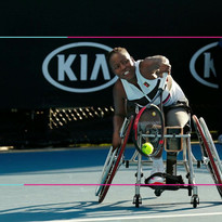 African Female Wheelchair Tennis Champio