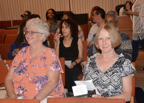 "Concertgoers at ""An Evening of Praise"""