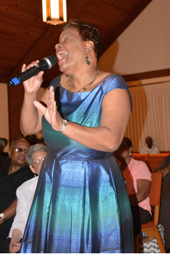"""Dorothy Carter at """"An Evening of Praise"""""""