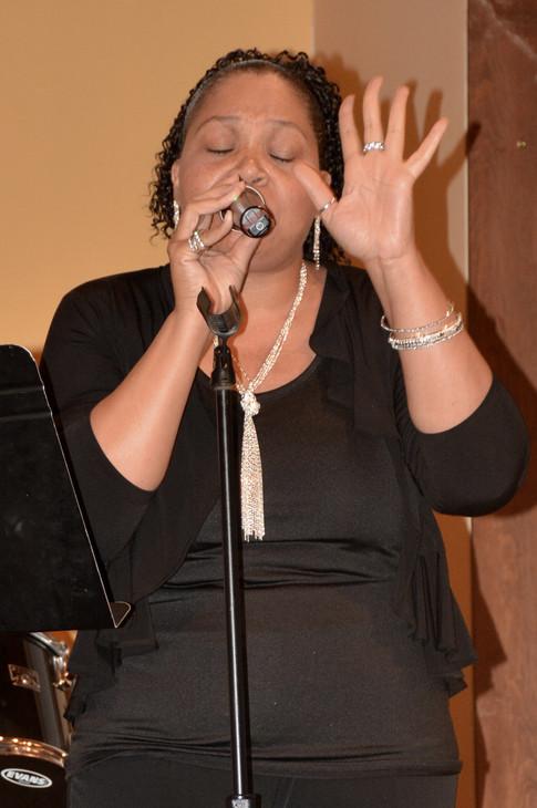 """Pamela Simmons at """"An Evening of Praise"""""""