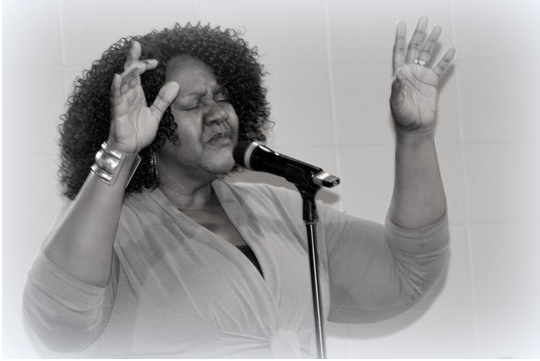 """Candace Devaney at """"An Evening of Praise"""""""