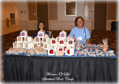 Sweets by Faith Vendor at 2017 Boot Camp
