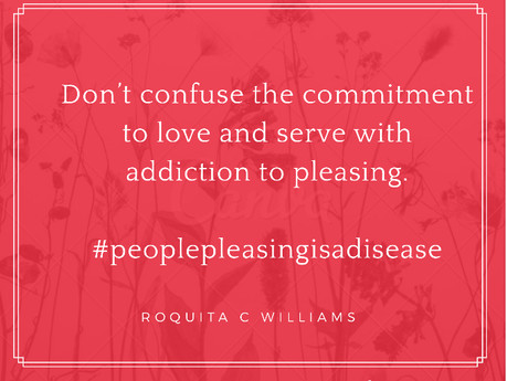 People pleasing is a disease and BOLD boundaries is the cure