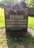 headstone Rosa kautz