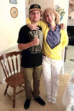 Mary Wideburg Canady and Justin