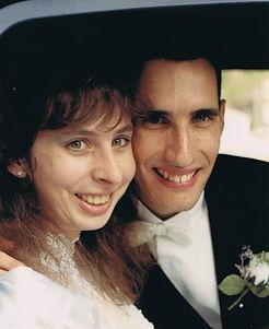 Sandra Kay Wideburg Proce wedding