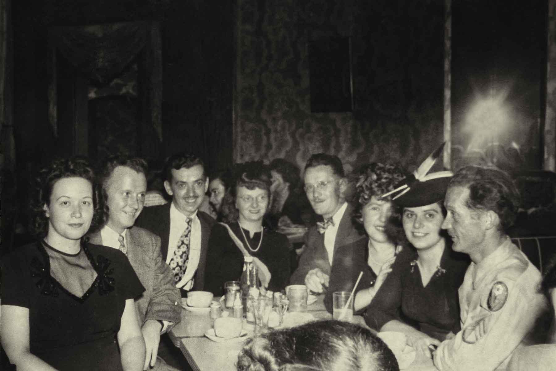 Jack Dempsey's Bar circa 1945
