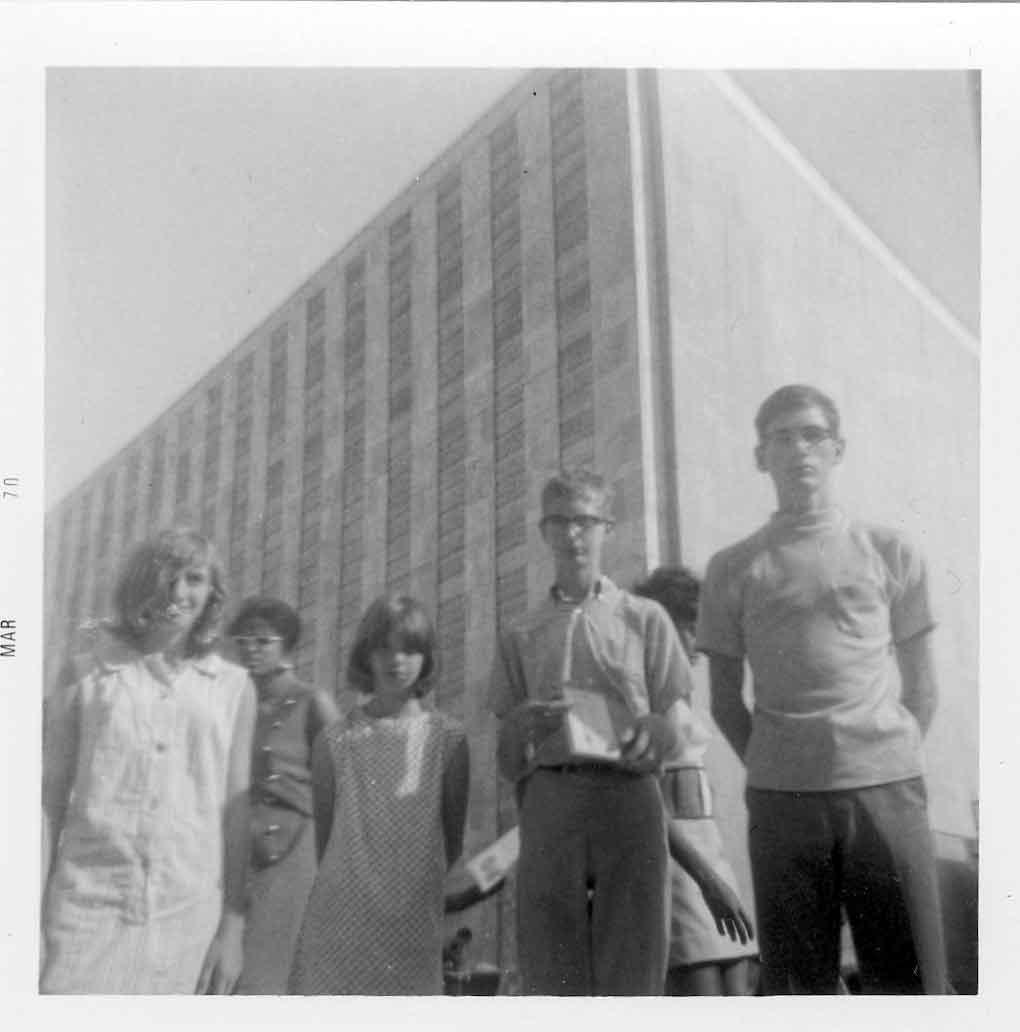 Mills' siblings - circa 1969