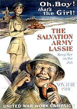 Salvation Army Lasssie
