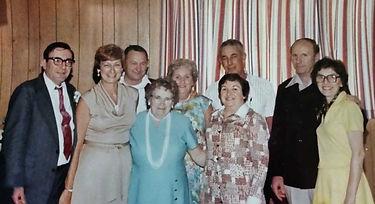 Victor S. w/ Terry, Lewis Tew, Margaret Brandon, Ann Marie, John Sammon, Margaret, Paul, Rose Kasper