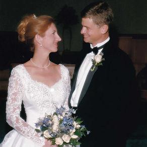 Mary Wideburg Canady wedding