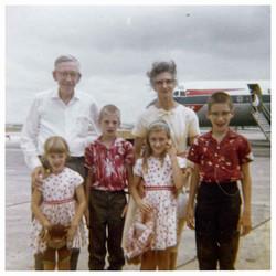 Mills family - circa 1969